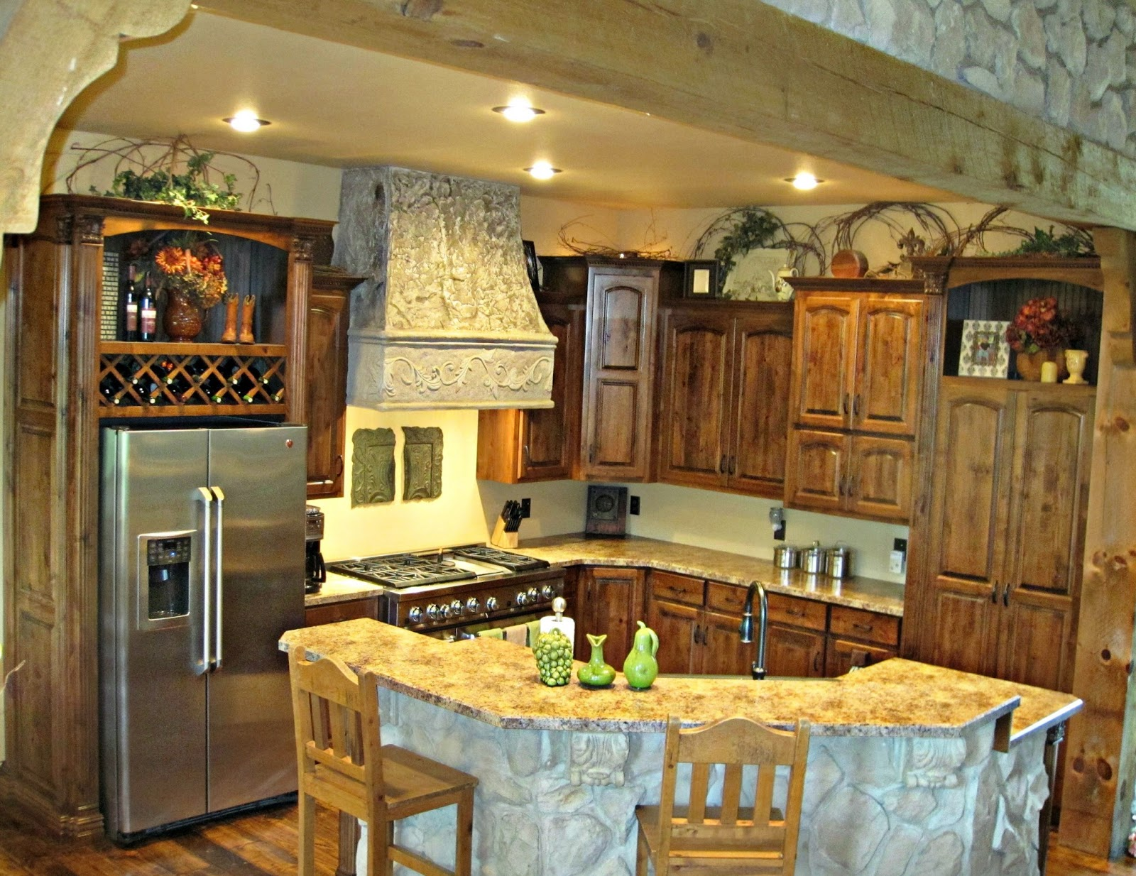 Custom kitchen perfect for those that