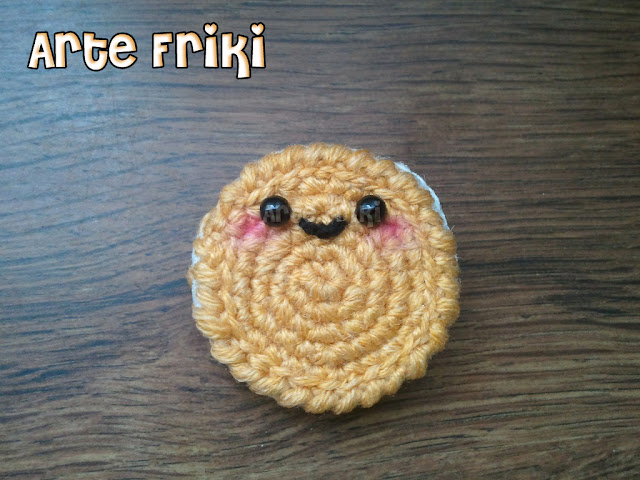 galleta cookie amigurumi crochet ganchillo