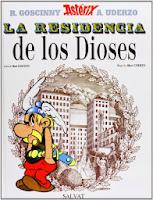 Astérix. La Residencia de los dioses,Albert Uderzo, René Goscinny,Salvat  tienda de comics en México distrito federal, venta de comics en México df