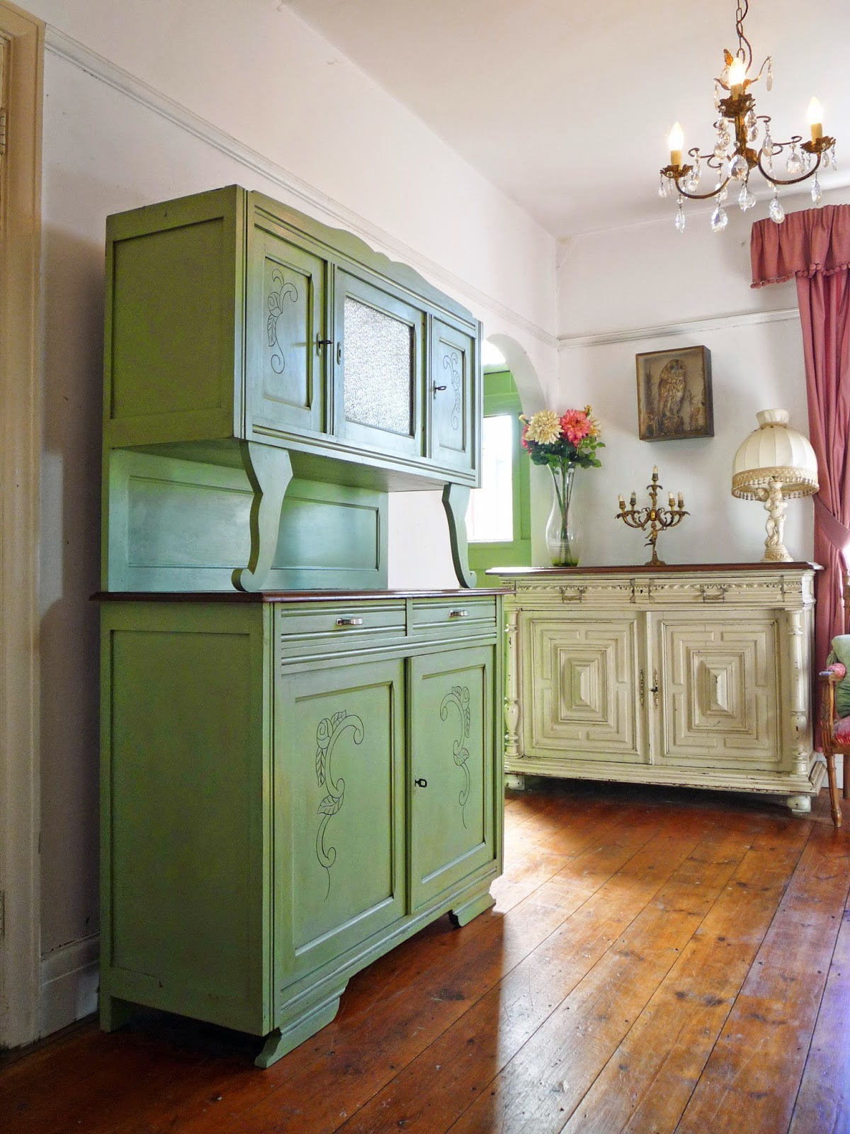 kitchen tv gel general armoire color pin a into finishes stain repurposed pantry is