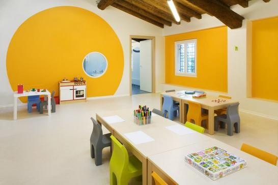 Giocare con i colori al nido!: anche il colore delle pareti è ...