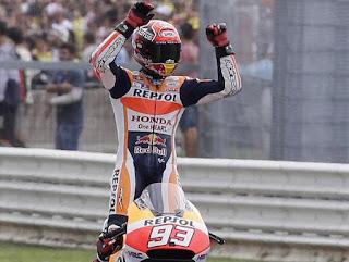 MOTO GP - Márquez asombró en Misano llevándose la victoria. Zarco acaricia el Mundial y Bastianini se estrenó en su casa