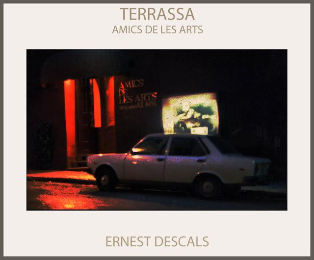 TERRASSA-PINTURA-AMICS DE LES ARTS-EXPOSICIONS-PINTURES-APARADOR-FOTOS-PINTOR-ERNEST DESCALS-