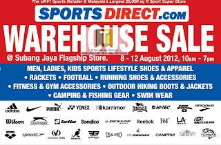 SportsDirect.com Warehouse Sale 2012
