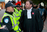 Manifestation des juristes