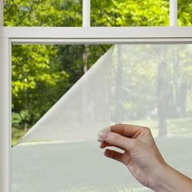 How to remove window frosting for 2 way privacy window film