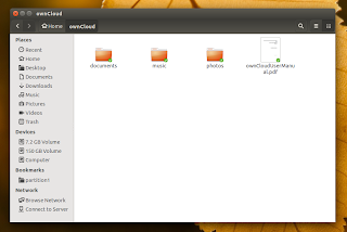 ownCloud overlay icons Nautilus