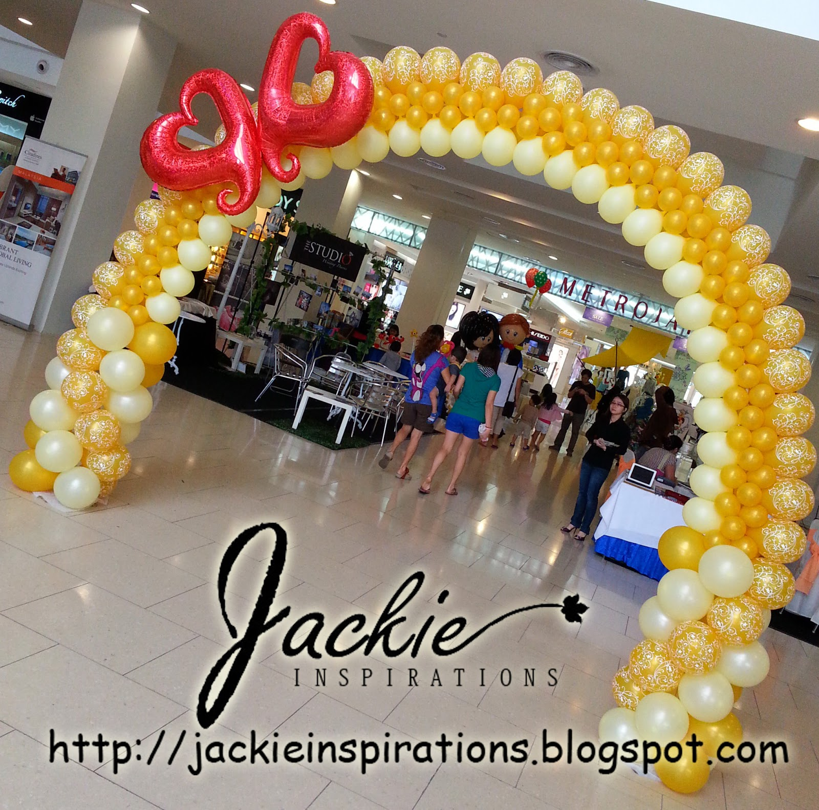Balloon decorations for weddings birthday parties balloon city one megamall bridal fair junglespirit Gallery