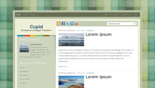 cupid blogger template blogger laouts