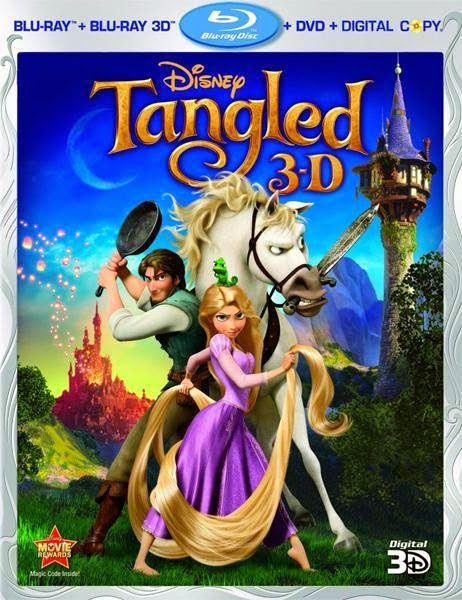 Tangled 2010 Hindi Dubbed Dual Audio BRRip 300mb ESub