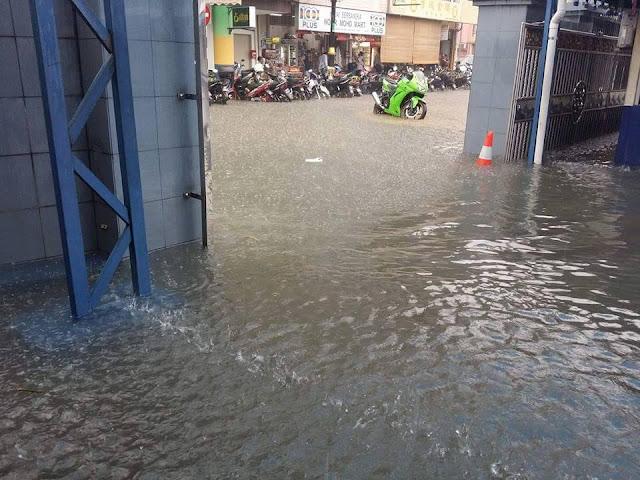 Banjir Di Johor Bahru5