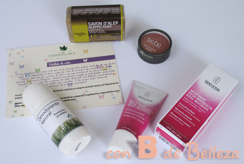 Essentia box cosmética natural
