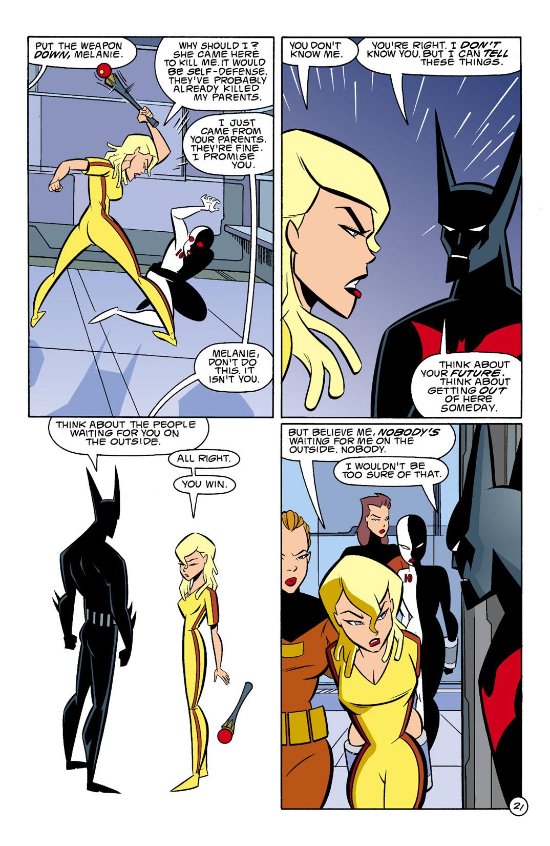 Batman Beyond [II] Issue #4 #4 - English 22