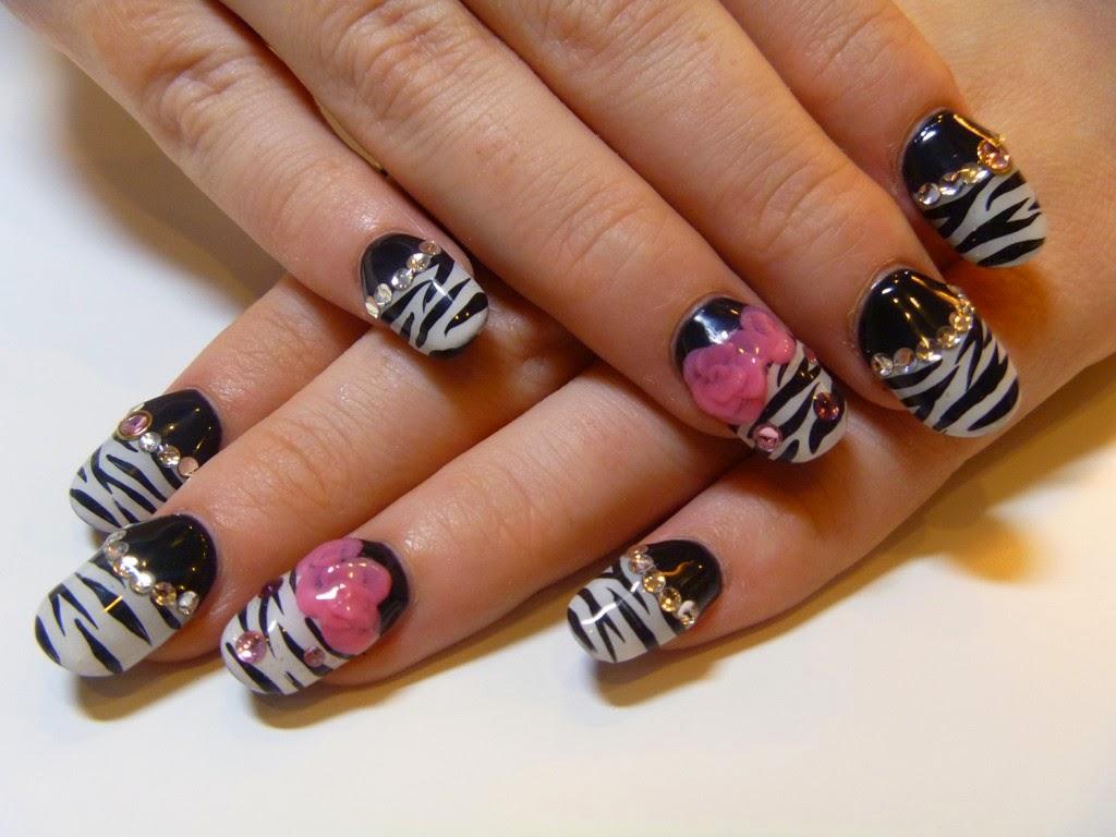 cute animal print acrylic nail designs nail art and