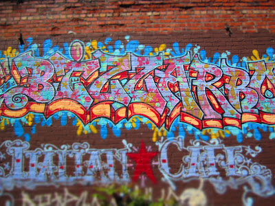 Bizzarro Italian Café Mural - Wallingford
