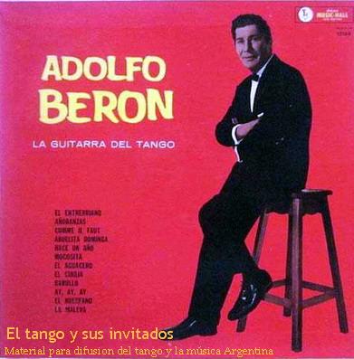Resultado de imagen para ADOLFO BERÓN 1972 LP