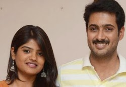 Actor Uday Kiran & Wife Vishita