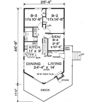 Planos casas modernas planos de casas con medidas en metros for Planos de casas con medidas
