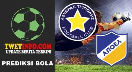 Prediksi Asteras Tripolis vs APOEL