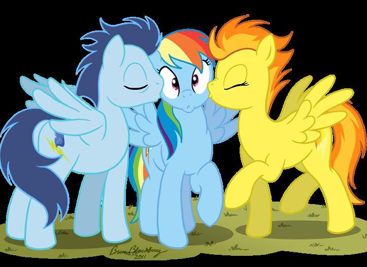 Rainbow dash x spitfire clopfic series rainbow dash