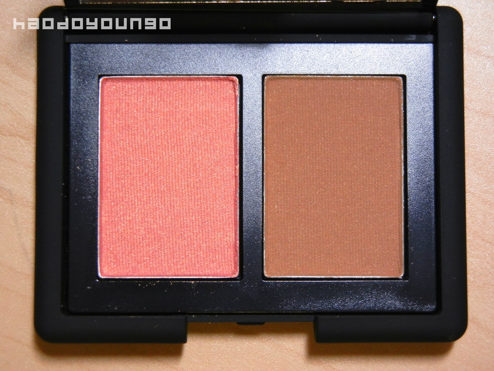 Review & Swatches: NARS Blush/Bronzer Duo in Orgasm and Laguna ...