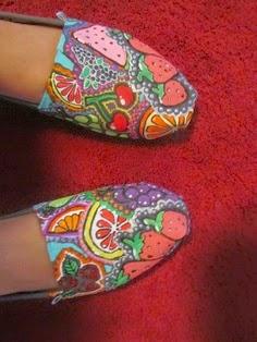 tênis e sapatilhas customizados