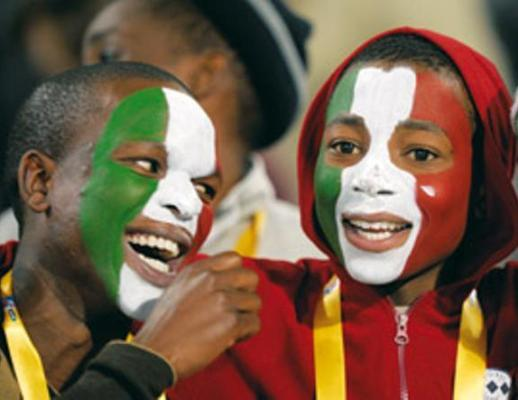 Afro europe are there black people in italy in for Italian people