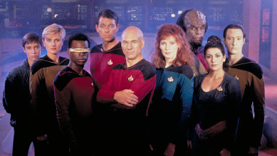 Star Trek The Next Generation Cast photo