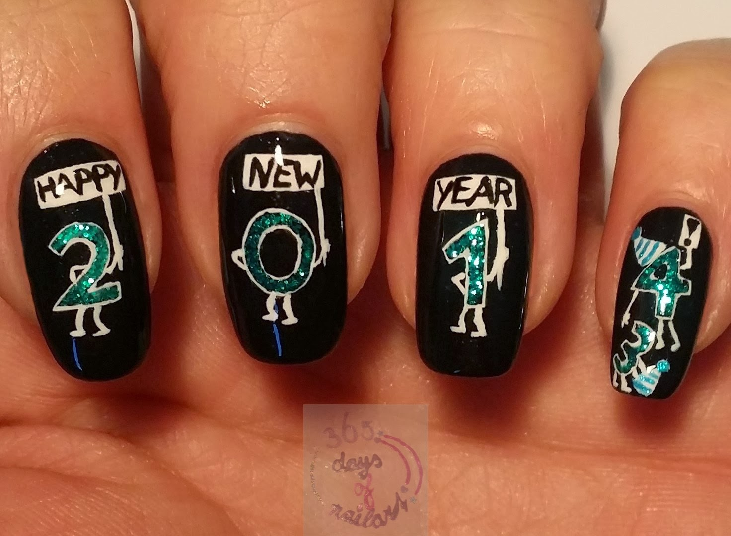 365+ days of nail art: 2013