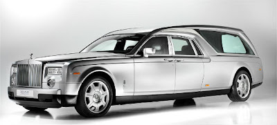 luxury cars - white rolls royce