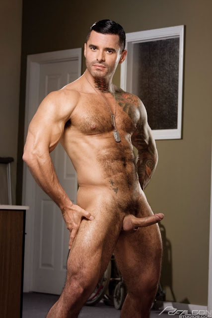 Hunk With Hairy Cock