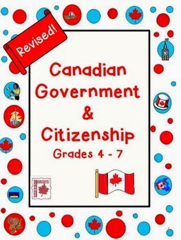 http://www.teacherspayteachers.com/Product/Canadian-Government-and-Citizenship-399816