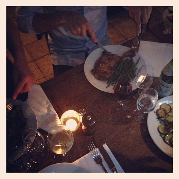 Le Cinq Mars Paris restaurang middag