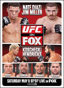 Download UFC on FX 3: Diaz Vs Miller HDTV 2012