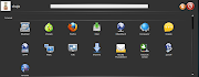 Mandriva's SimpleWelcome also has big, bright iconsUnity menu is somewhat .
