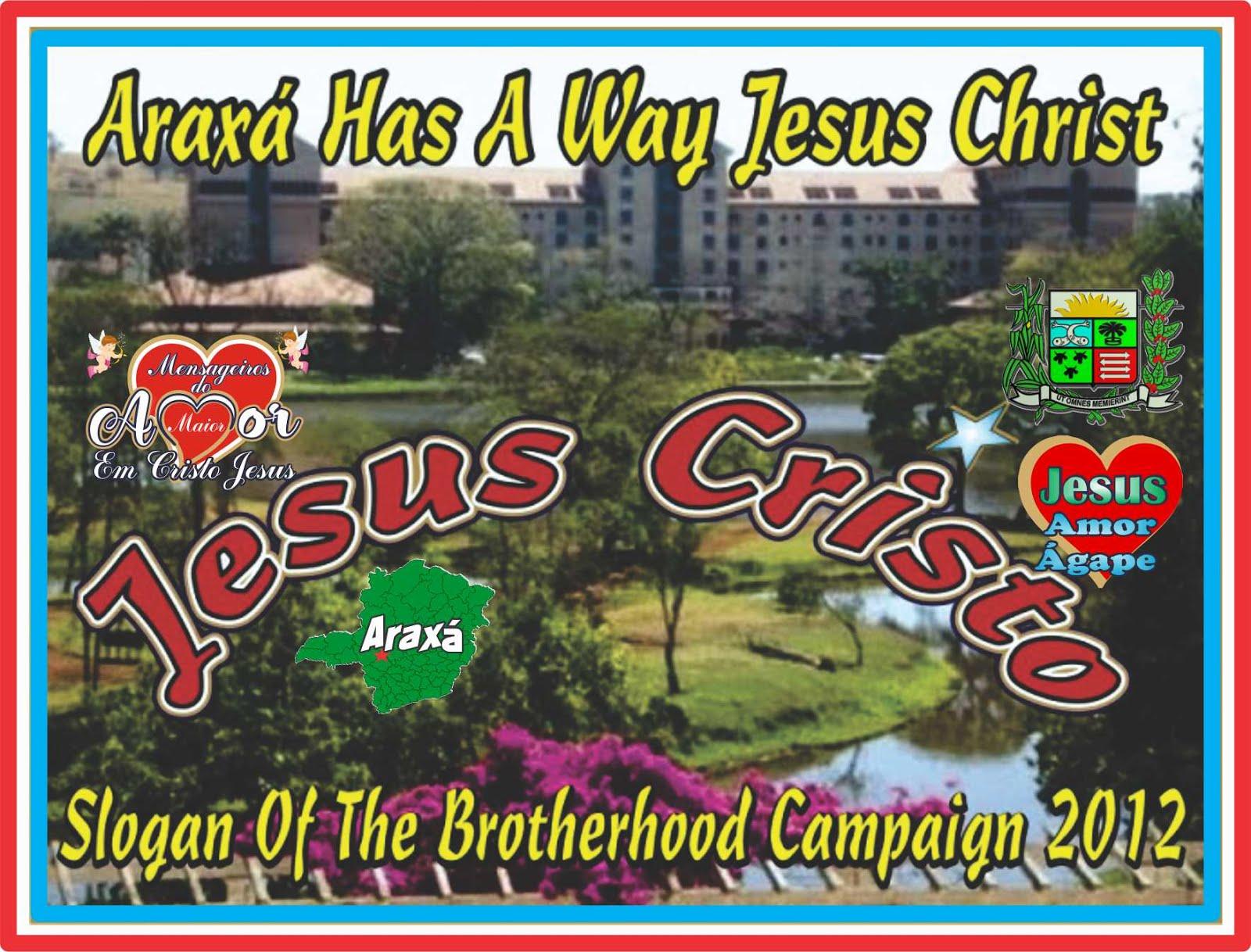 Araxá Tem Jeito Jesus Cristo