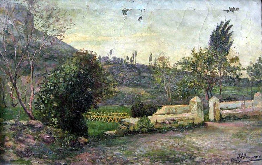 , Paisajes de Almagro López, Pintor español, Pintores de Jaén