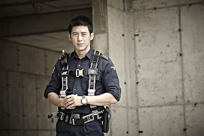 Go Soo at LOVE 911 Korean Movie