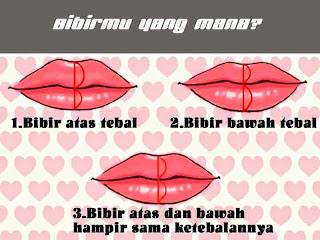 Bibir, ketebalan bibir, lips