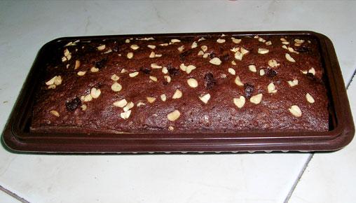 Kue Brownies Kering
