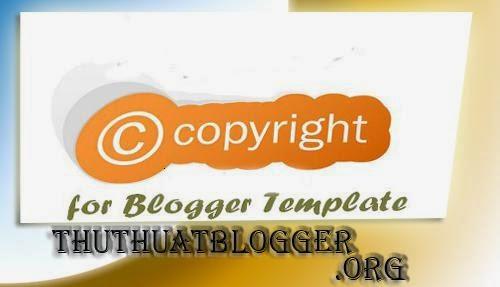 Làm sao để mã hóa bản quyền cho template Blogspot