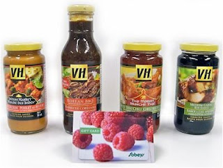 Marinating and cooking sauces from VH.