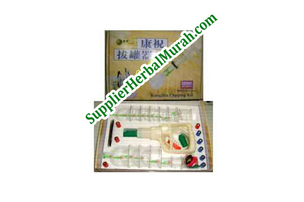 Alat Bekam Kuning Kang Zhu 14 Cups