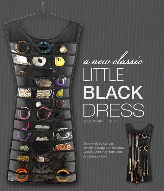 Fashion Futures Umbras Little Black Dress Storage For Jewellery