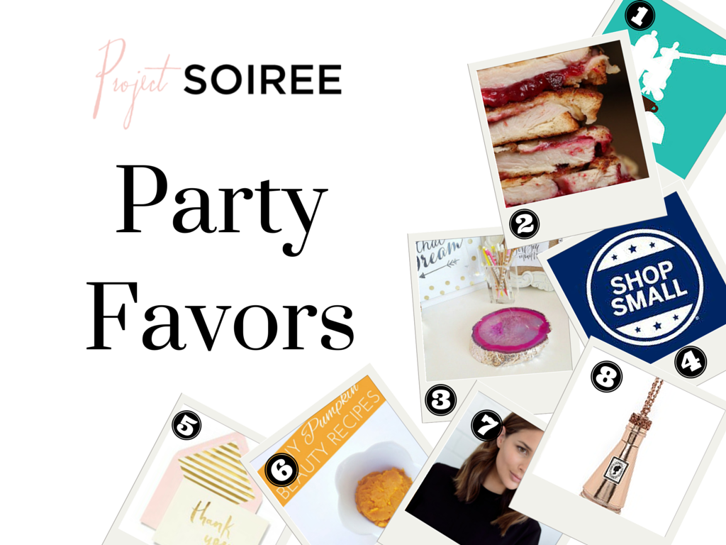 Project Soiree Party Favors