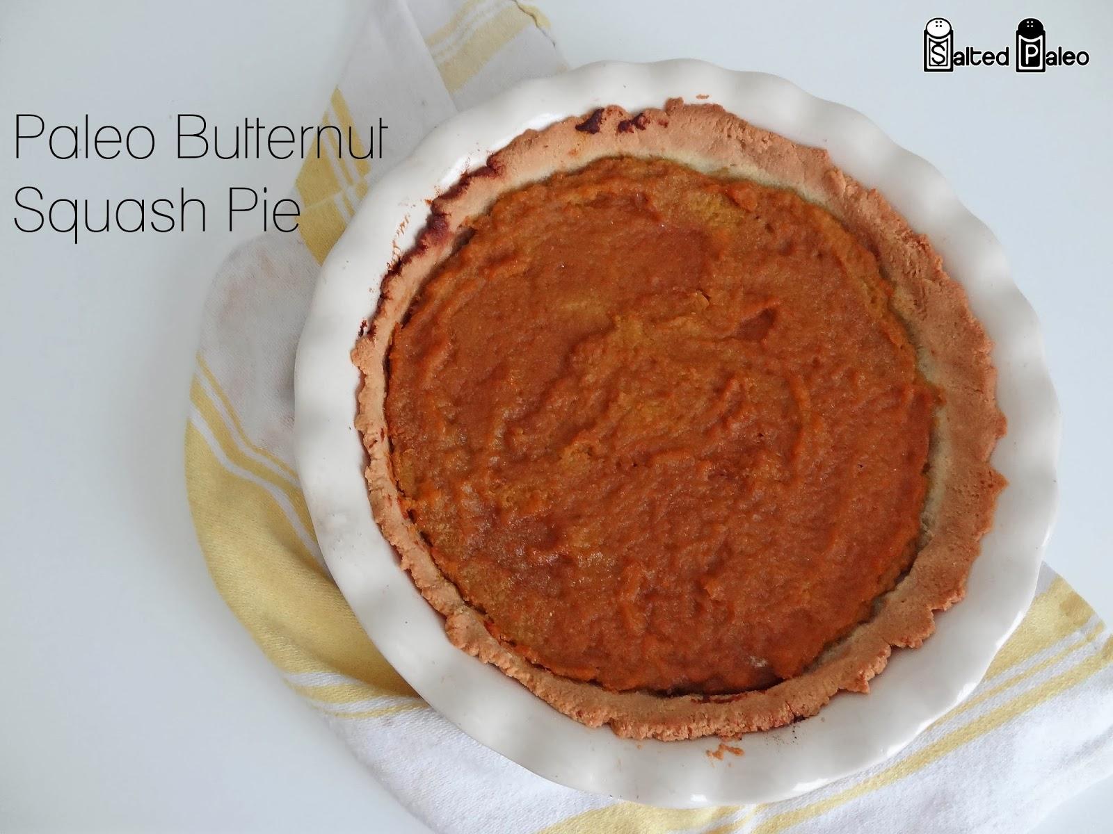Salted Paleo: Paleo Butternut Squash Pie (scd, paleo)