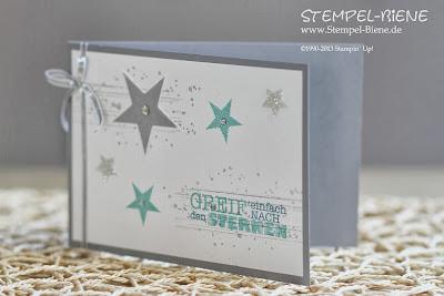 Simply Stars; Alles nur Sprüche; Sternenkarte; Dankeskarte; Swap; Goodie; Bigz Top Note; Stampin' Up Hochzeitsgeschenk; Stempel-biene; Scrapbooking; Scrapbook; stampin' up; Stampin' up recklinghausen; Workshops; Mitternachtsblau; Morgenrot; www.stempel-biene.de; Karten basteln stampin' up, basteln stampin up, workshop stampin up, sammelbestellung, stempelparty, 1000 euro party, Stempel-biene Recklinghausen, stempelbiene recklinghausen, Anleitung Bigz L Knallbonbon, Hochzeitskarte, Hearts a Flutter;