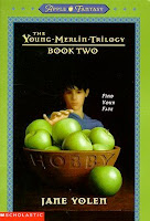 bookcover of   Hobby (The Young Merlin Trilogy #2) by Jane Yolen