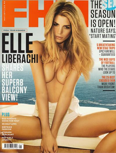 Elle Liberachi - FHM UK Magazine May 2011