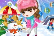 Kar Topu Savaşı Güzeli Oyunu
